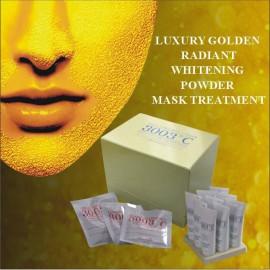 3003C-Luxury Golden Radiant Whitening Powder Mast Treatment 9sets/box