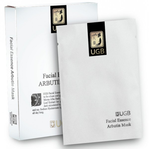 UGB-Facial Essence Arbutin Mask x 8 pcs