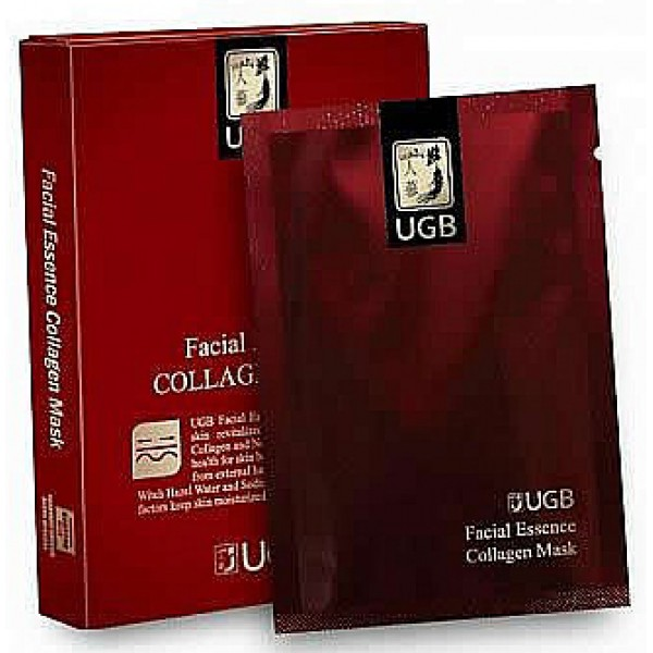 UGB-Facial Essence Collagen Mask Pack 25ml x 8